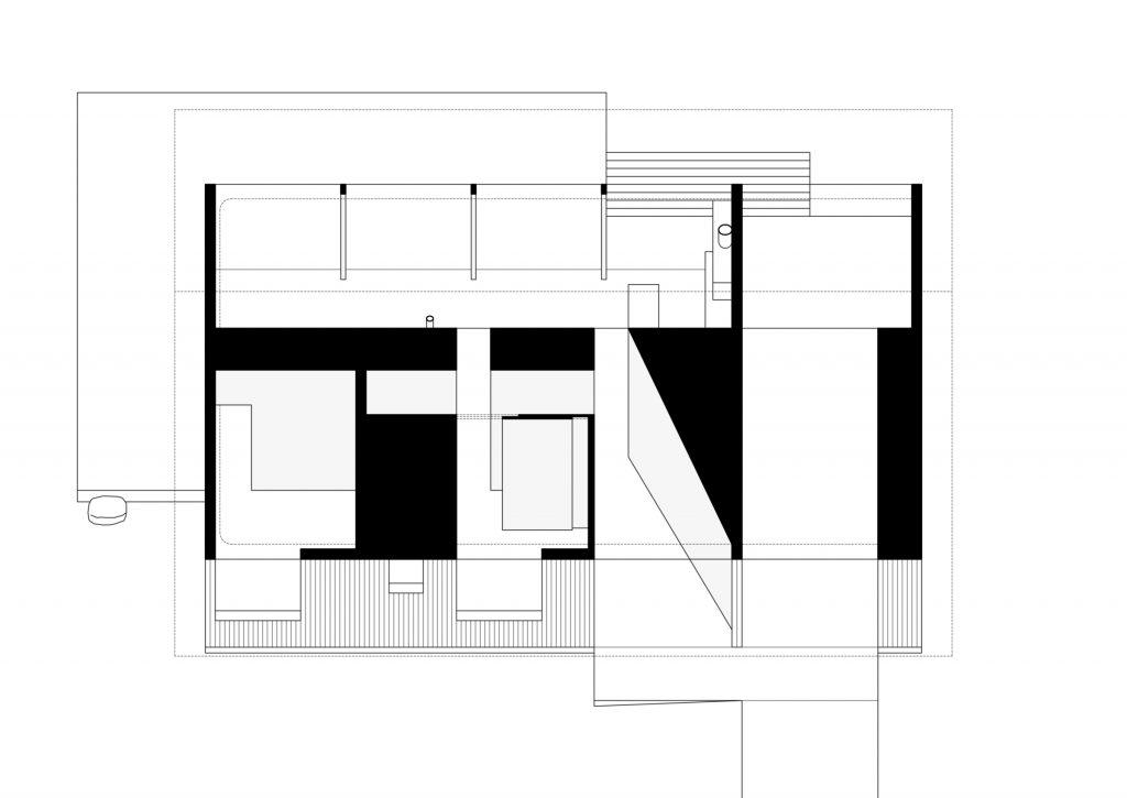 Divine House. Oblique axonometric