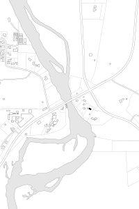 Divine House. Site plan