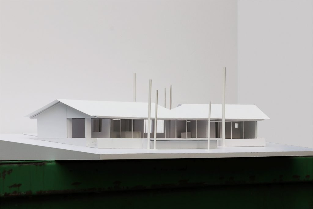 Divine House. Preliminary study model