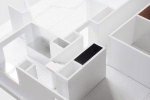 Irvington House. Model detail