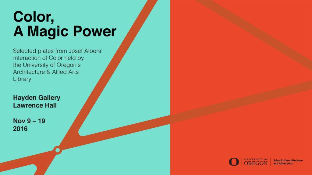 Josef Albers Exhibition. Exhibition poster