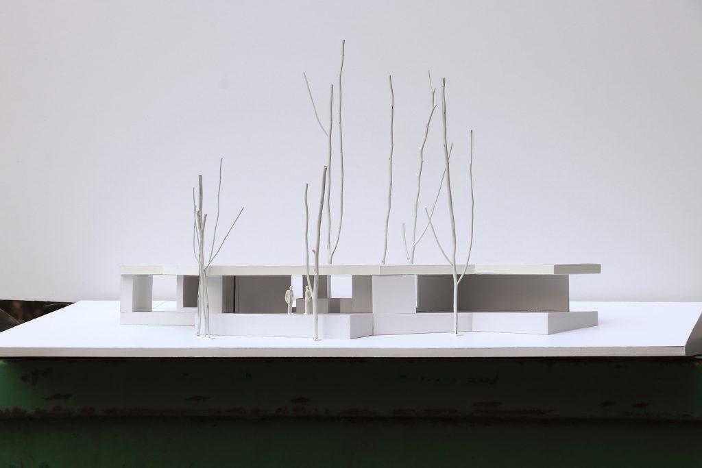 McKenzie River Pavilion. Model