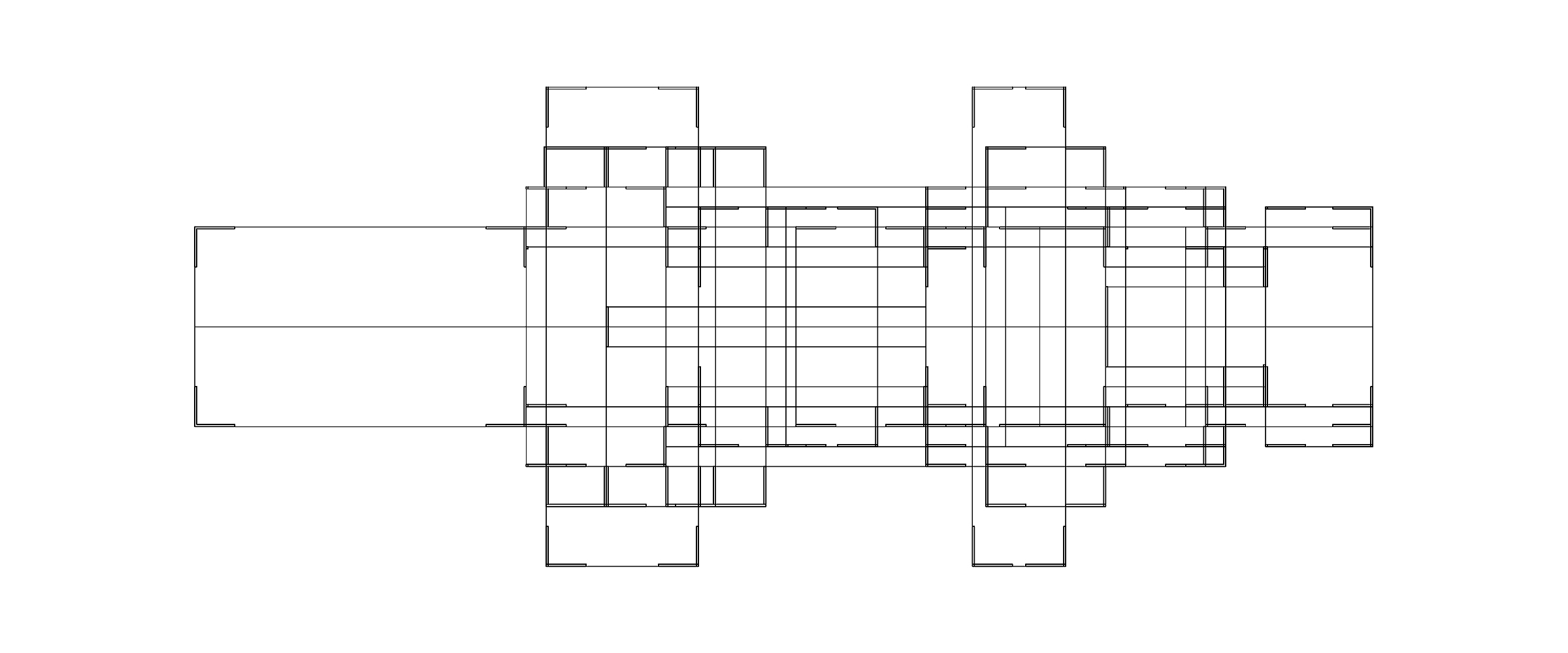 Mies Remix elevation
