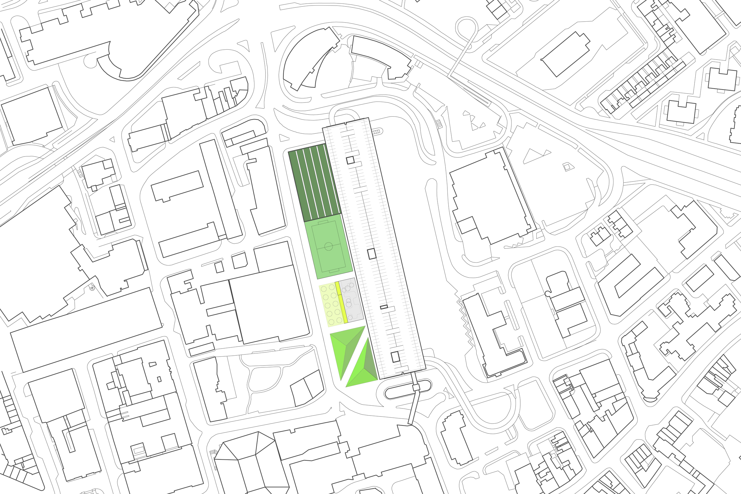 Preston Bus Station site plan
