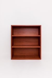 Red Bookcase. Front view