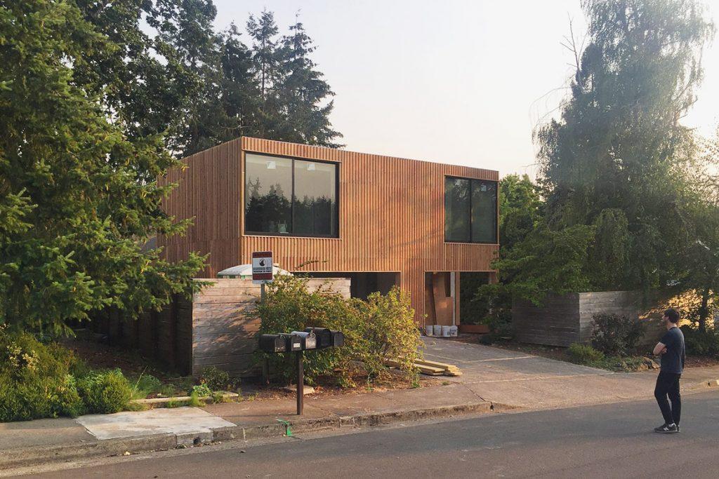Shelton House. Street view