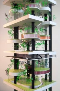 Vertical Zoo. Mid level floors