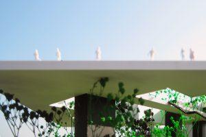 Vertical Zoo. Top level viewing platform