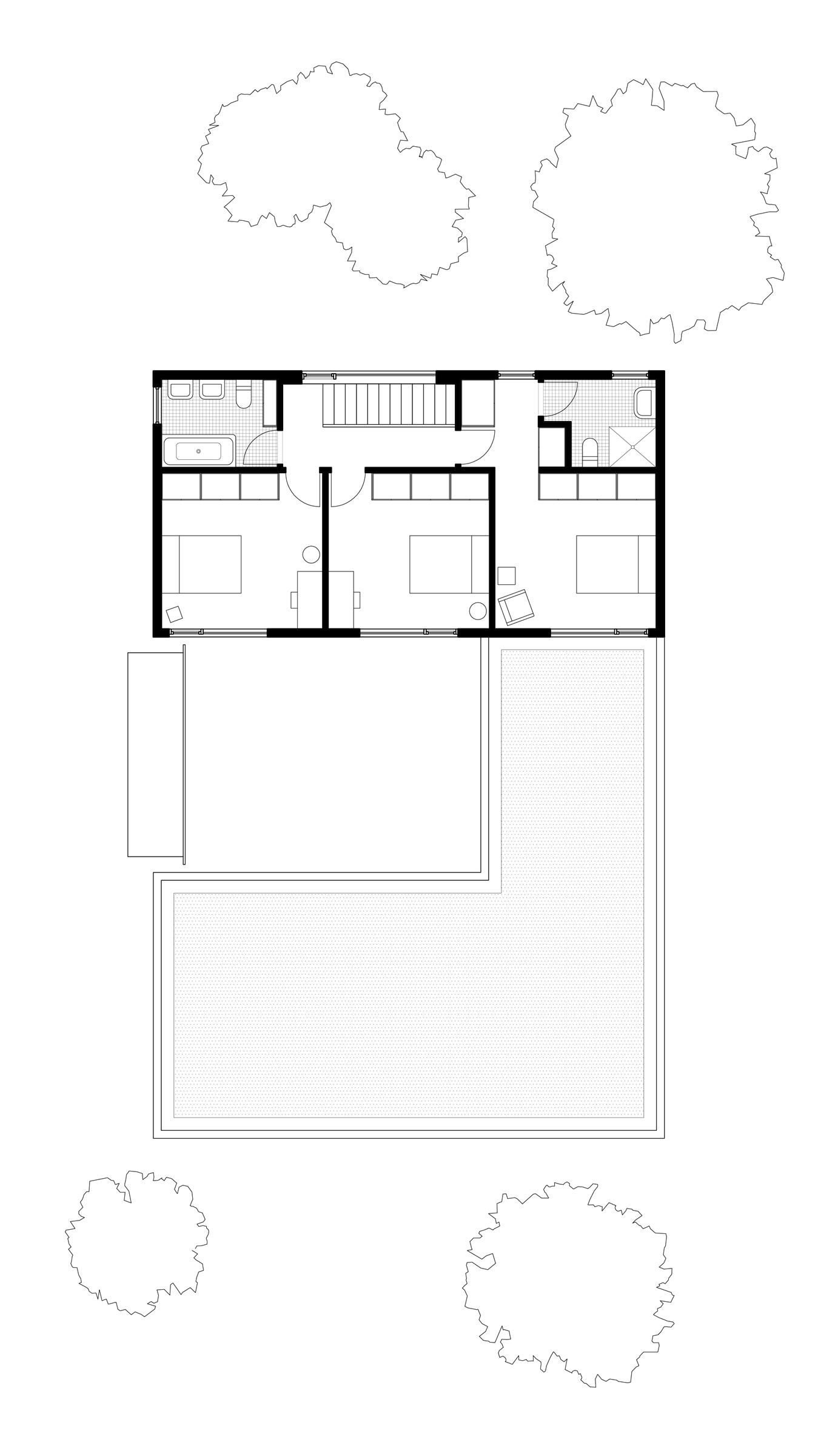West Linn House second floor plan